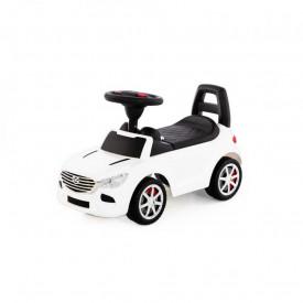 Masinuta - Supercar, alba, fara pedale, 66x28.5x30 cm, Polesie