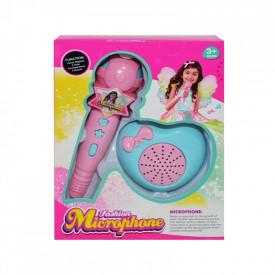 Microfon + difuzor cu baterii