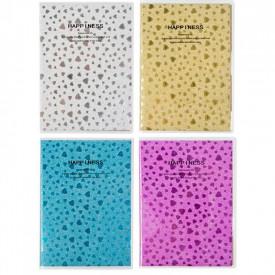 Notes A7 Glitter, diverse culori - STARPAK