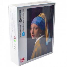 Puzzle carton, Fata cu cercel de perla, 1000 piese