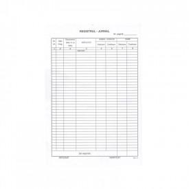 Registru jurnal A4, 100 file