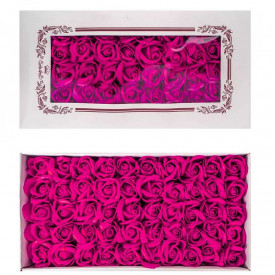 Trandafiri decorativi, din sapun, 50 buc/set - ROZ