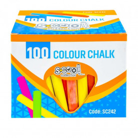 Creta color anti-dust, 100 buc/cutie - S-COOL