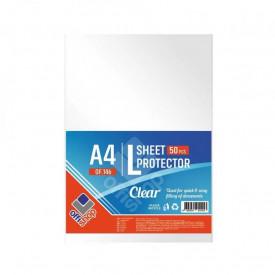 Folie protectie A4, tip L, 100 buc/set - OFFISHOP