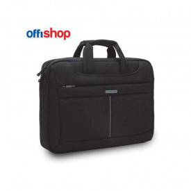 Geanta laptop, neagra, 40x8x32 cm - OFFISHOP