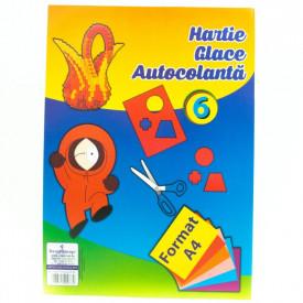 Hartie Glace Autocolanta 6 culori Vega