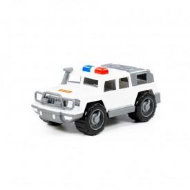 Jeep politie - Defender 31x15x13 cm, Polesie