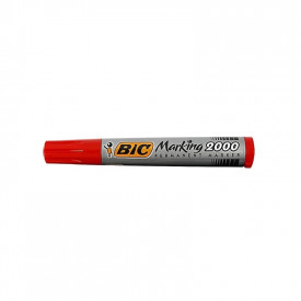 Marker permanent 2000 rosu 12/cutie - BIC