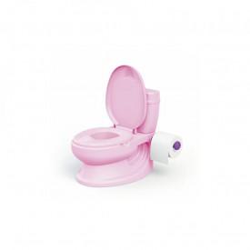 Olita tip WC, cu sunet, roz, 28x39x38cm - Dolu