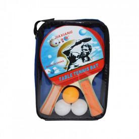 Palete ping pong + 3 mingi, 1 set/husa