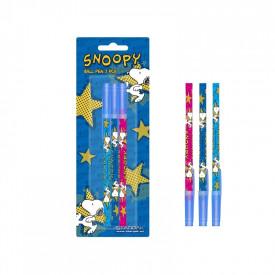 Pix plastic Snoopy set 3 pe blister - STARPAK