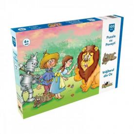 Puzzle 100 piese Vrajitorul din Oz