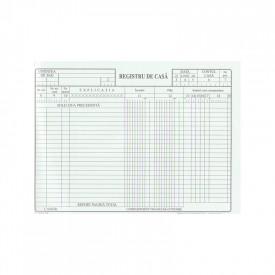 Registru de casa A4, 100 file, autocopiativ