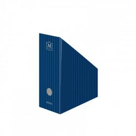 Suport dosare carton A4 motiv Montana IV albastru