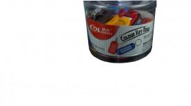 BRELOC PLASTIC PT CHEI 50BUC/SET (AR)