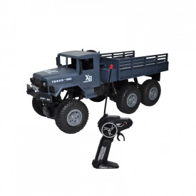 Camion militar cu RC, AC, 31x12,5x13 cm