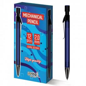 Creion mecanic, 2mm, 12 buc/cutie - S-COOL