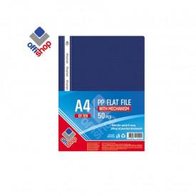 Dosar plastic A4, 120/180 mic, Bleumarin - OFFISHOP