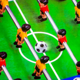 Joc fotbal de masa, 55x33,5x8 cm