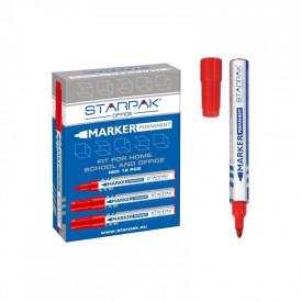 Marker permanent rosu - STARPAK