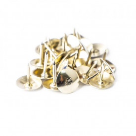 Pioneze metalice, 100 buc/set