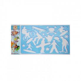 Sablon sport extrem, 26,5x18,5 cm - Koh-I-Noor