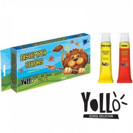 Tempera, 12 ml, 10 culori/set - S-COOL