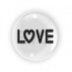 Balon transparent 45 cm - Love - TUBAN