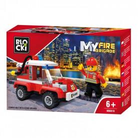 Blocki My Fire Brigade, Masina interventie pompieri