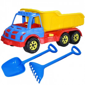 Camion 60 cm, cu lopata + grebla - ROBENTOYS