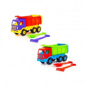 Camion+lopata si grebla - Premium, 67x26x36 cm, Wader