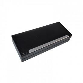 Caseta-etui negru pentru 2 instrumente de scris