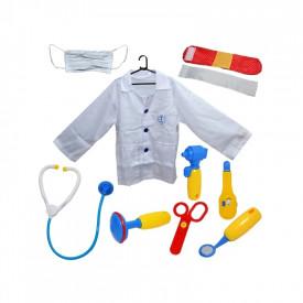 Costum doctor cu accesorii, 10 piese