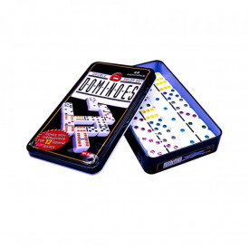 Domino, cutie din metal