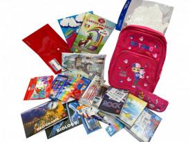 Ghiozdan echipat pentru fete, clasele 3-4, 21 produse