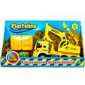 Joc Plastelino Excavatorul de Plastilina Noriel