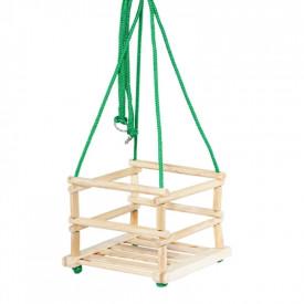 Leagan clasic, din lemn, 33x33x5 cm - Tupiko