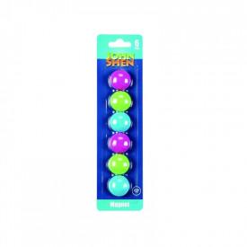 Magneti 30 mm color Set 6 - JOHN SHEN