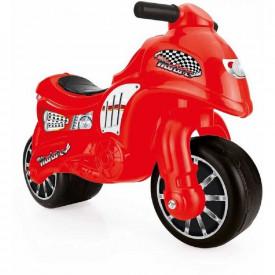 Motocicleta fara pedale, rosu, 50x71x27 cm - Dolu