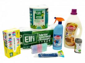 Pachet Detergent Kiriko Savon de Marseille, 8 produse