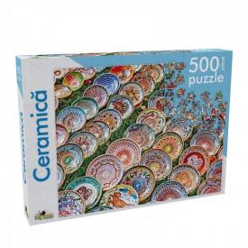 Puzzle 500 piese Ceramica