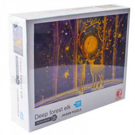 Puzzle carton, Elani, 1000 piese