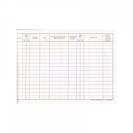 Registru intrare-iesire A4 orizontal/vertical duplex