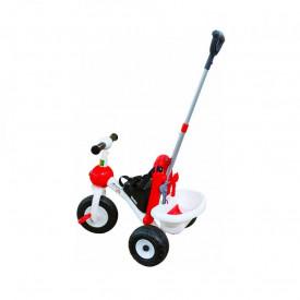 Tricicleta cu pedale si maner, 68x46x50 cm, Polesie