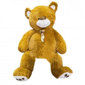 Ursulet din plus, cu fundita, 140 cm