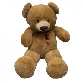 Ursulet din plus, cu fundita, 90 cm