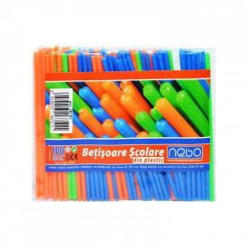 Betisoare scolare din plastic 100 buc|set - NEBO