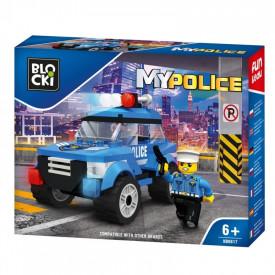 Blocki My Police, Masina de politie pentru patrulare