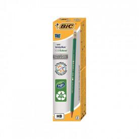 Creion HB + radiera Eco Evolution 655 12|cutie - BIC
