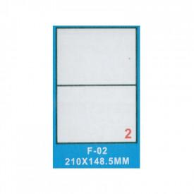 Hartie autoadeziva A4 100 coli - 210x148.5mm